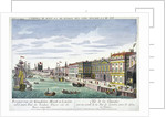 View of Custom House and River Thames, London by George Godofroid Winkler