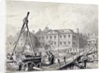 Fishmongers' Hall, Thames Street, London by William Henry Bartlett
