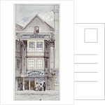 Raymond's City Pie House, Fleet Street, London by