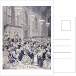 Banquet at the Guildhall, London by Anonymous