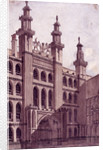 Guildhall, London by Charles Tomkins