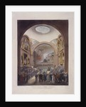 Guildhall Council Chamber, London by J Bluck