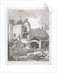 Leadenhall Chapel, London by John Thomas Smith