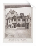 Little St Helen's, London by John Thomas Smith