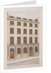 Lombard Street, London by Thomas Rowlandson