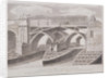 London Bridge (old), London by James Basire I
