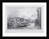 London Bridge (old), London by Charles Joseph Hullmandel