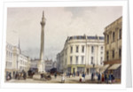 Monument, London by Thomas Colman Dibdin