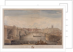 London Bridge (old and new), London by G Yates