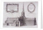 St Paul's Cathedral (old), London by Wenceslaus Hollar