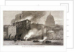 Thames Street Fire, London by Anonymous