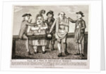 Wife being sold at Smithfield Market, London. 1797 by Anonymous