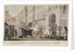 People bargaining for mounts at West Smithfield, London by Theodore Lane