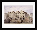 View of Chamberlain's Wharf, Tooley Street, Bermondsey, London by Anonymous