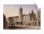 View of Bridge House in Bridge Yard, Tooley Street, Bermondsey, London by Anonymous
