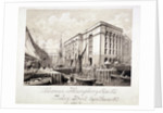View of John Humphrey's Dock and Hay's Wharf, Tooley Street, Bermondsey, London by Anonymous