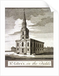 St Giles in the Fields, Holborn, London by Anonymous