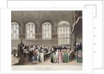 Lincoln's Inn, Holborn, London by Augustus Charles Pugin