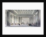 The Grand Central and Egyptian Saloons, British Museum, Holborn, London by Robert Sands