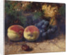 Peaches and Grapes by