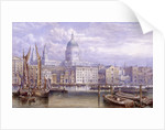 St Paul's from Bankside, London by William Richardson