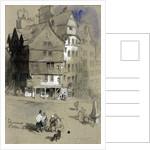 Sir George McKenzie's house, Edinburgh, Scotland by Sir John Gilbert