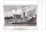 Lambeth Church and Palace, London by F Alvey