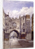 St John's Gate, Clerkenwell, London by John Crowther