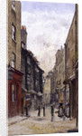 Peter's Lane, Clerkenwell, London by John Crowther