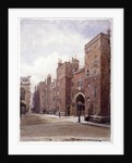 Lincoln's Inn Gatehouse, London by John Crowther