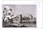 Garden at Lambeth Palace, London by S Sparrow