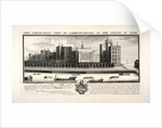 Lambeth Palace, London by Pierre-Charles Canot