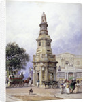 Monument to George IV, Battle Bridge (now King's Cross), London by
