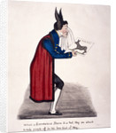 Caricature of Sir John Key by Anonymous