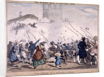 Siege at the Tower of London by Anonymous