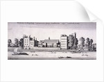 Lambeth Palace, London by Wenceslaus Hollar