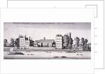 Lambeth Palace, London by Wenceslaus Hollar