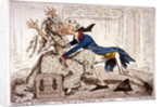 Political ravishment, or the Old Lady of Threadneedle Street in danger! by James Gillray