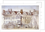 Staple Inn, Holborn, London by Thomas Colman Dibdin