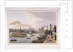 London Bridge (Old), London by Robert Havell