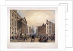 Mansion House and Cheapside, London by Thomas Picken