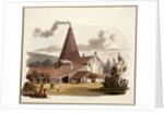 Tile Kiln, Gray's Inn Road, Holborn, London by William Pickett
