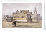 Tram in Kennington, London by Anonymous