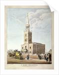 St Mary, Islington, London by BR Baker
