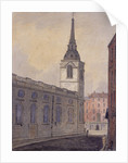 St Benet Gracechurch, London by William Pearson