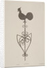 Weather vane from St Stephen, Coleman Street, London by JS Gardener