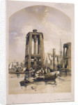 View of the Thames near Rotherhithe, Bermondsey, London by
