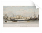 The Blackwall Railway Terminus and Brunswick Pier, Blackwall, Poplar, London by Thomas Picken