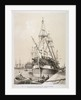 Ship in the East India Docks, London by Anonymous