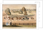 King George IV riding through Hyde Park, London by Matthew Dubourg